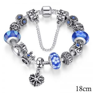 Niebieska 18cm PA1867