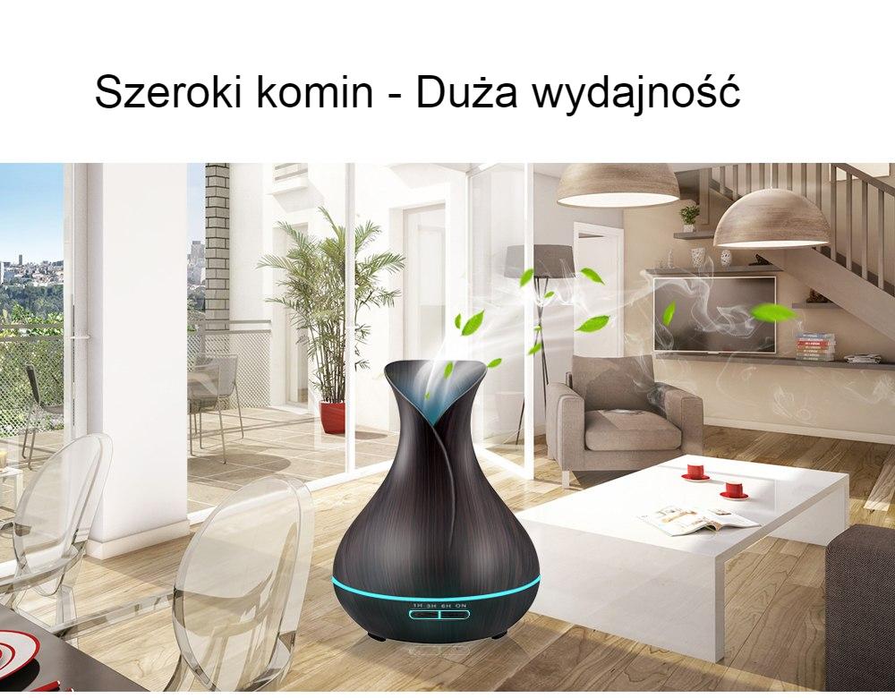Nawilżacz Powietrza Ultradźwiękowy - Podświetlany