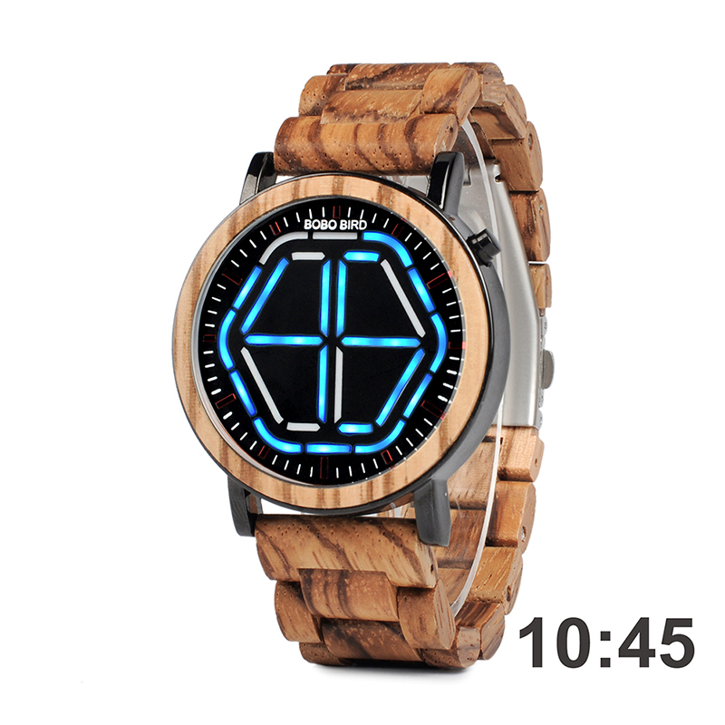 2P13 digital men watches