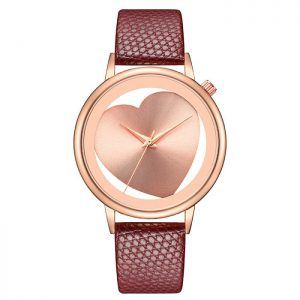 Leather Rose Gold