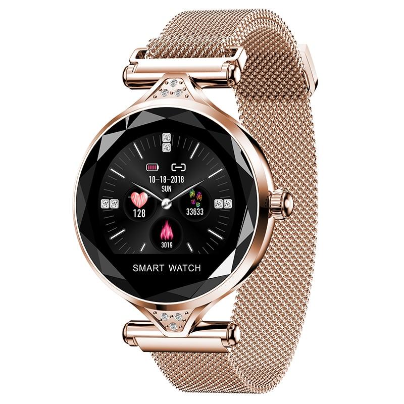 b15cc76f00 Smartwatch Zegarek Damski Roneberg RH1 Mesh 2019 – Click Market