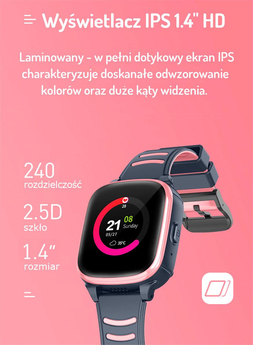 Smartwatch Dla Dzieci Mediatek Ultimate 4G GPS Wideorozmowy